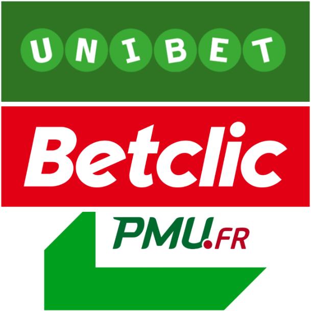 PMU Unibet Betclic - comparaison FR