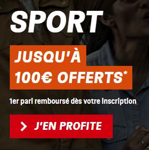 Bonus de bienvenue Sport PMU